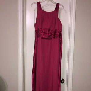 Size 16 watermelon bridesmaid dress